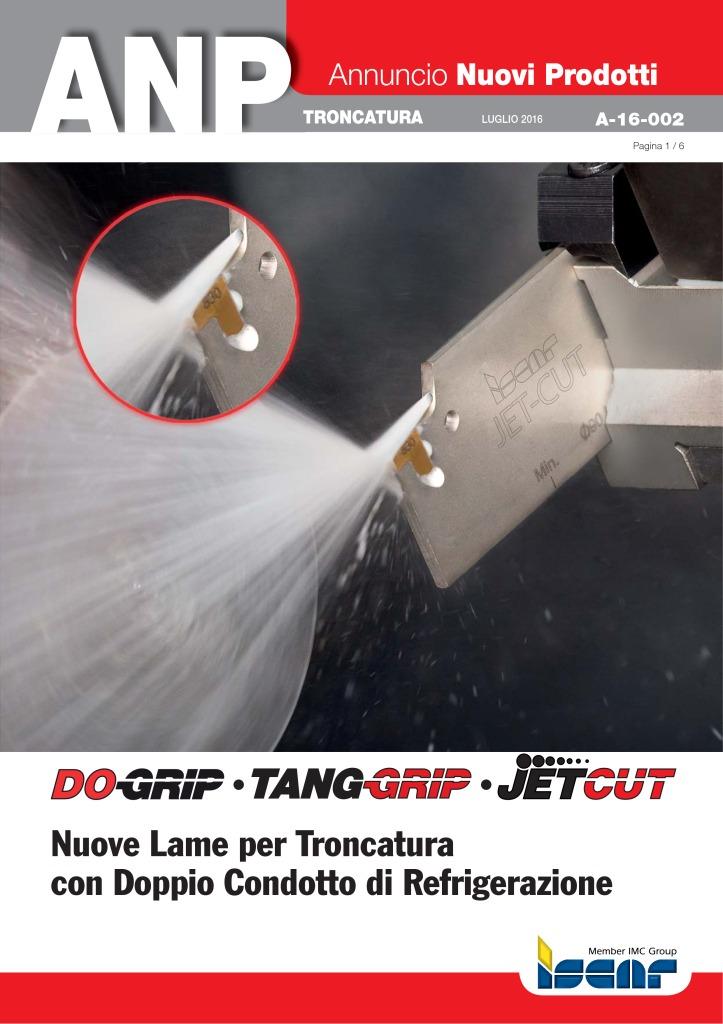 thumbnail of A-16-002 – Lame per troncatura con refrigerazione interna