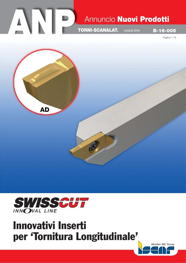 thumbnail of B-16-005 – Inserti SWISSCUT per tornitura longitudinale