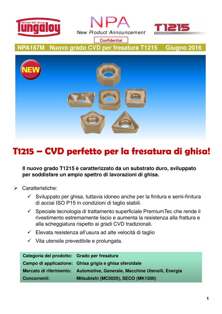thumbnail of NPA 187M Nuovo Grado CVD per fresatura – T1215